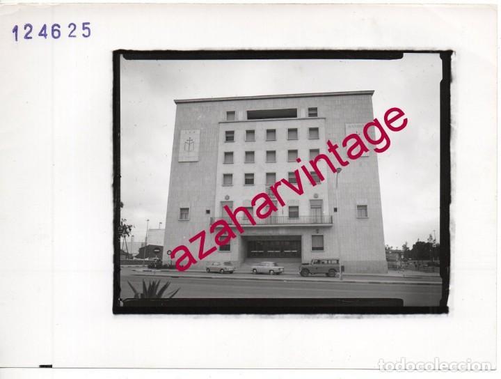 HUELVA, ANTIGUA FOTOGRAFIA,PALACIO DE JUSTICIA, PAISAJES ESPAÑOLES,128X178MM (Fotografía Antigua - Fotomecánica)