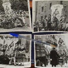 Fotografía antigua: FIESTAS DE LA CRUZ Y DOS DE MAYO, MADRID 1952, CONJUNTO DE FOTOGRAFIAS EN B/N.. Lote 206326967