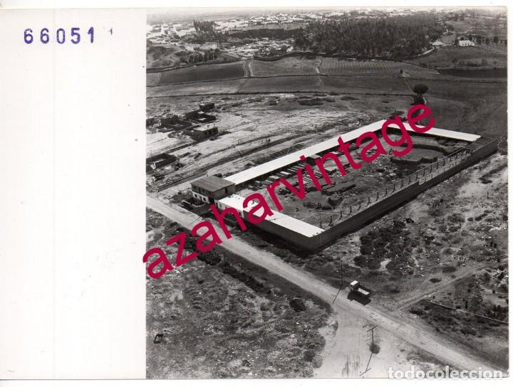 CARTAYA,HUELVA, ANTIGUA FOTOGRAFIA,VISTA AEREA, PAISAJES ESPAÑOLES,128X178MM (Fotografía Antigua - Fotomecánica)