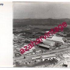 Fotografía antigua: HUELVA, ANTIGUA FOTOGRAFIA VISTA AEREA MINAS DE RIO TINTO , PAISAJES ESPAÑOLES,128X178MM. Lote 206370582