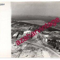 Fotografía antigua: HUELVA, ANTIGUA FOTOGRAFIA VISTA AEREA MINAS DE RIO TINTO , PAISAJES ESPAÑOLES,128X178MM. Lote 206370762