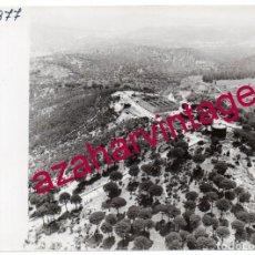 Fotografía antigua: HUELVA, ANTIGUA FOTOGRAFIA VISTA AEREA MINAS DE RIO TINTO , PAISAJES ESPAÑOLES,128X178MM. Lote 206372322