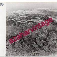 Fotografía antigua: HUELVA, ANTIGUA FOTOGRAFIA VISTA AEREA MINAS DE RIO TINTO , PAISAJES ESPAÑOLES,128X178MM. Lote 206372426