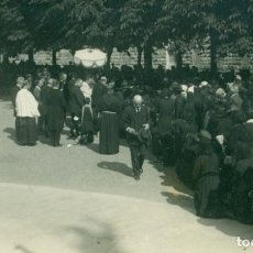 Fotografía antigua: SAN SEBASTIÁN PROCESIÓN DEL CORPUS. HACIA 1910.. Lote 206579462