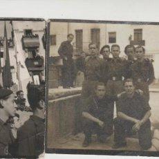 Fotografía antigua: LOTE A- FOTOS GUERRA CIVIL ORIGINALES 5X5 CENTIMETROS. Lote 207835622