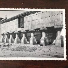 Fotografía antigua: ANTIGUA FOTO BLANCO Y NEGRO ORREO HORREO ALACENA PATOS 8,3X6 CM. Lote 207969847