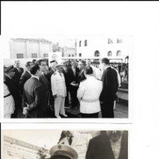 Fotografia antiga: FOTOGRAFÍAS VISITA DE FRANCO EN LAS INUNDACIONES DE TERRASSA 1962. CARLOS PEREZ DE ROZAS. Lote 208063942