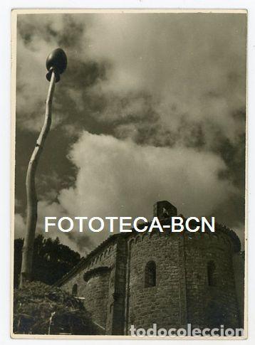 FOTO ORIGINAL GALLIFA VISTA DE LA ERMITA AÑO 1956 (Fotografía Antigua - Fotomecánica)