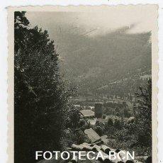 Fotografía antigua: FOTO ORIGINAL ALREDEDORES DE LES EXPLOTACION FORESTAL MADERA TRONCOS VALL D'ARAN ARAN AÑOS 40/50. Lote 210076270