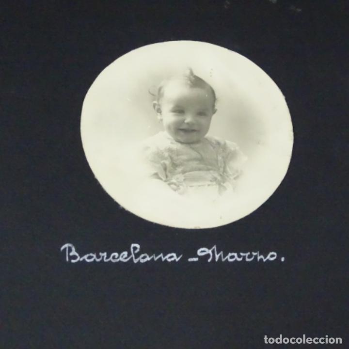 Fotografía antigua: Excelente álbum fotos de chica 1922-1944.fotos stanyol,Sitges,Palma,alcudia,Génova,etc. - Foto 4 - 210154467