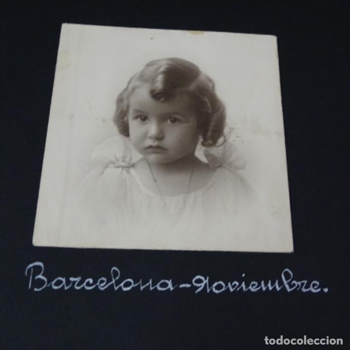 Fotografía antigua: Excelente álbum fotos de chica 1922-1944.fotos stanyol,Sitges,Palma,alcudia,Génova,etc. - Foto 8 - 210154467
