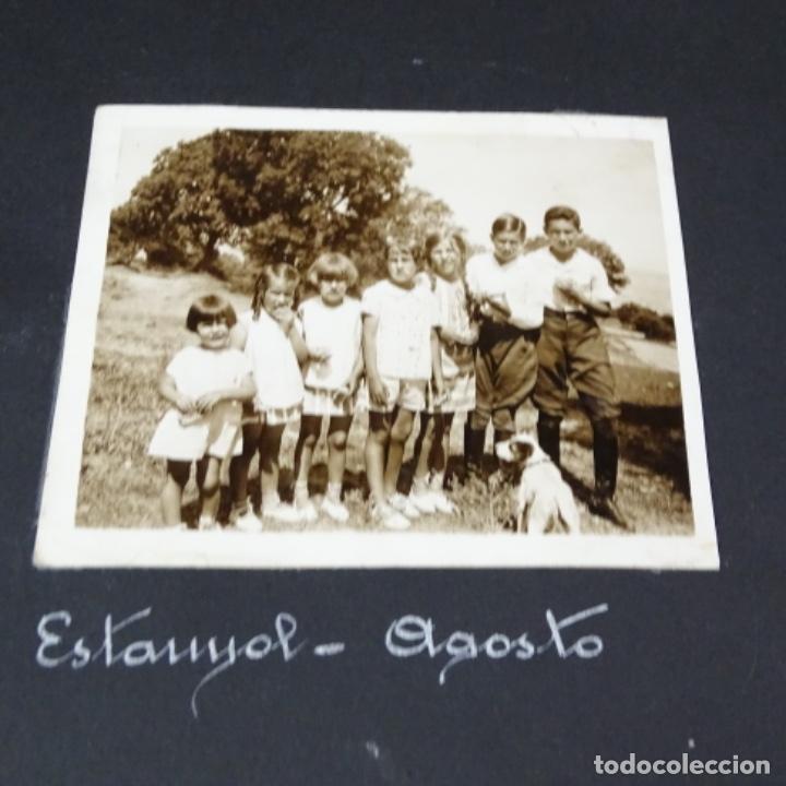 Fotografía antigua: Excelente álbum fotos de chica 1922-1944.fotos stanyol,Sitges,Palma,alcudia,Génova,etc. - Foto 9 - 210154467