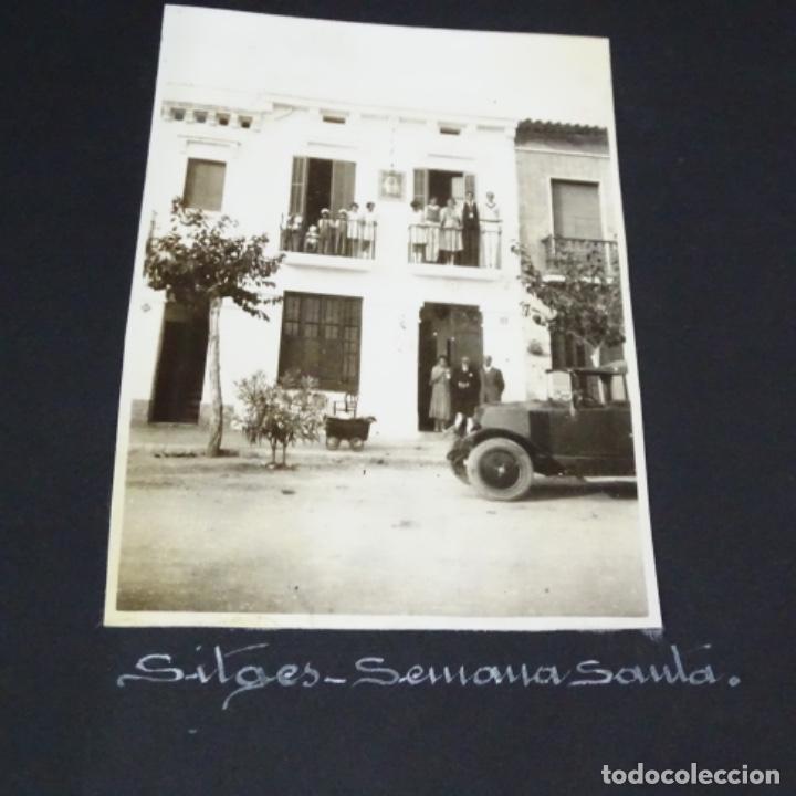 Fotografía antigua: Excelente álbum fotos de chica 1922-1944.fotos stanyol,Sitges,Palma,alcudia,Génova,etc. - Foto 20 - 210154467