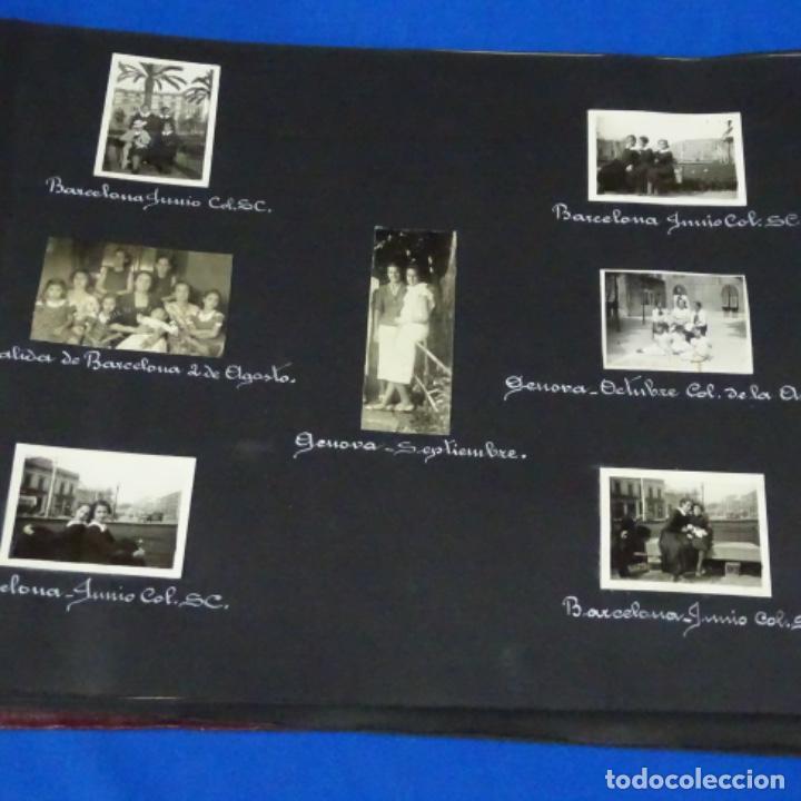 Fotografía antigua: Excelente álbum fotos de chica 1922-1944.fotos stanyol,Sitges,Palma,alcudia,Génova,etc. - Foto 22 - 210154467