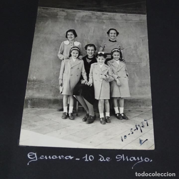 Fotografía antigua: Excelente álbum fotos de chica 1922-1944.fotos stanyol,Sitges,Palma,alcudia,Génova,etc. - Foto 23 - 210154467