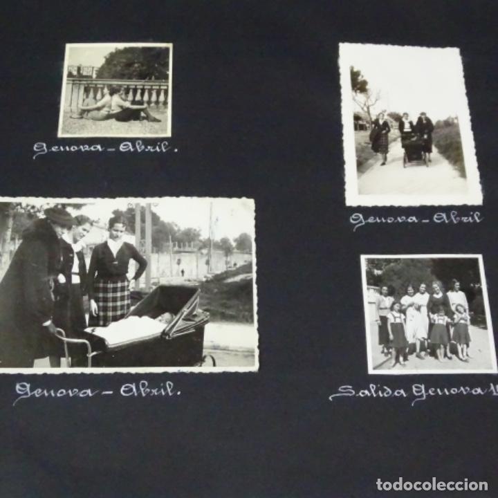 Fotografía antigua: Excelente álbum fotos de chica 1922-1944.fotos stanyol,Sitges,Palma,alcudia,Génova,etc. - Foto 25 - 210154467