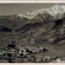 Fotografía antigua: FOTOGRAFÍA CANTABRIA. POTES CON PICOS DE EUROPA AL FONDO. FOTOGRAFÍAS NACHO (POTES) AGOSTO 1961. Lote 210524737
