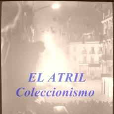 Fotografía antigua: VALENCIA - FALLAS CREMÁ - CLICHE NEGATIVO DE 35 MM EN CELULOIDE - AÑO 1960. Lote 210761455