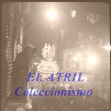 Fotografía antigua: VALENCIA - FALLAS - CLICHE NEGATIVO DE 35 MM EN CELULOIDE - AÑO 1960. Lote 210762002