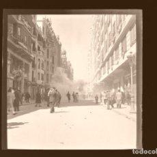 Fotografía antigua: VALENCIA - FALLAS MASCLETAES - 12 CLICHES NEGATIVOS EN CELULOIDE - AÑOS 1960. Lote 210769019