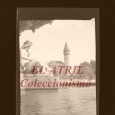 Fotografía antigua: VALENCIA - PALACIO DE RIPALDA - CLICHE NEGATIVO EN CELULOIDE - AÑOS 1960. Lote 210771119