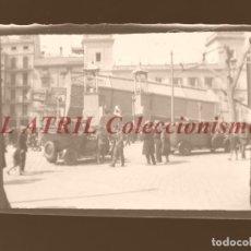 Fotografía antigua: VALENCIA - FALLAS - CLICHE NEGATIVO EN CELULOIDE - AÑOS 1930-50. Lote 210773374