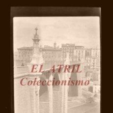 Fotografía antigua: ALCOY ?, ALICANTE - VISTA - CLICHE NEGATIVO EN CELULOIDE - AÑOS 1960. Lote 210773764