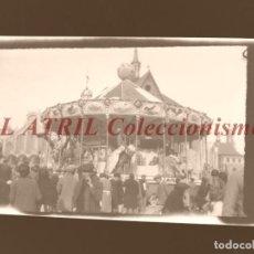 Fotografía antigua: VALENCIA - FALLAS - CLICHE NEGATIVO EN CELULOIDE - AÑOS 1940-50. Lote 210774005