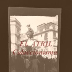 Fotografía antigua: VALENCIA - FALLAS - CLICHE NEGATIVO EN CELULOIDE - AÑOS 1940-50. Lote 210774074
