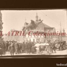 Fotografía antigua: VALENCIA - FALLAS - CLICHE NEGATIVO EN CELULOIDE - AÑOS 1940-50. Lote 210774667