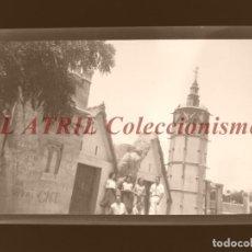 Fotografía antigua: VALENCIA - VISTA - CLICHE NEGATIVO EN CELULOIDE - AÑOS 1960. Lote 210775226