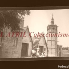 Fotografia antica: VALENCIA - VISTA - CLICHE NEGATIVO EN CELULOIDE - AÑOS 1960. Lote 210775416