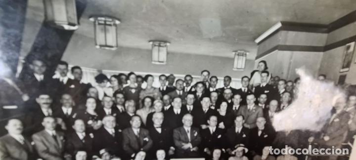 Fotografía antigua: FOTOGRAFÍA GRUPAL DE LA VACUUM OIL COMPANY. CONSEJO DE ADMINISTRACION. 1934. - Foto 4 - 210820371