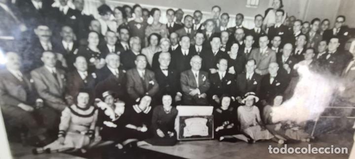 Fotografía antigua: FOTOGRAFÍA GRUPAL DE LA VACUUM OIL COMPANY. CONSEJO DE ADMINISTRACION. 1934. - Foto 6 - 210820371
