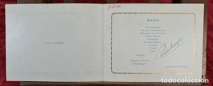 Fotografía antigua: FOTOGRAFÍA GRUPAL DE LA VACUUM OIL COMPANY. CONSEJO DE ADMINISTRACION. 1934. - Foto 8 - 210820371