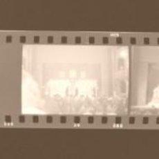Fotografía antigua: VALENCIA - FALLAS - 21 CLICHES NEGATIVOS DE 35 MM EN CELULOIDE - AÑO 1978. Lote 211635462