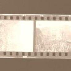Fotografía antigua: VALENCIA - FALLAS - 18 CLICHES NEGATIVOS DE 35 MM EN CELULOIDE - AÑO 1976. Lote 211656755