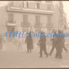 Fotografía antigua: VALENCIA - FALLAS - CLICHE NEGATIVO DE 35 MM EN CELULOIDE - AÑO 1960-70. Lote 211657975