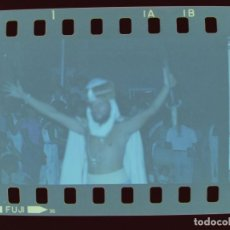 Fotografía antigua: PATERNA, VALENCIA, MOROS Y CRISTIANOS, 19 CLICHES NEGATIVOS DE 35 MM CELULOIDE - AÑO 1980. Lote 211789686