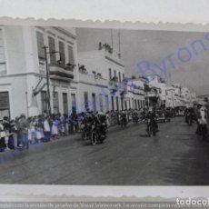 Fotografia antica: VISITA DE FRANCO. LAS PALMAS DE GRAN CANARIA. AÑO 1950 (8,5 X 6,5 CM). Lote 211955977