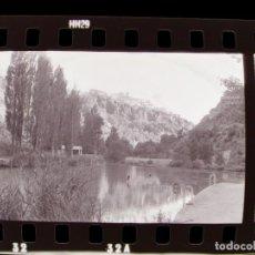 Fotografia antiga: CUENCA - VISTAS - 6 CLICHES NEGATIVOS DE 35 MM EN CELULOIDE, AÑO 1974. Lote 211994923