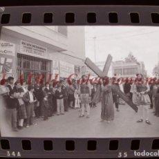 Fotografía antigua: BENETUSER, VALENCIA - SEMANA SANTA - 6 CLICHES NEGATIVOS DE 35 MM EN CELULOIDE, AÑO 1979. Lote 212047666