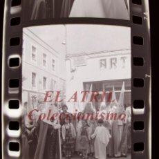 Fotografía antigua: BENETUSER, VALENCIA - SEMANA SANTA - 3 CLICHES NEGATIVOS DE 35 MM EN CELULOIDE, AÑO 1979. Lote 212047945