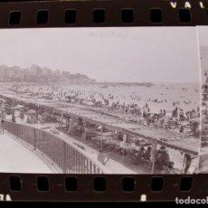 Fotografía antigua: BENIDORM, ALICANTE - VISTAS - 6 CLICHES NEGATIVOS DE 35 MM EN CELULOIDE - AÑO 1974. Lote 212057550