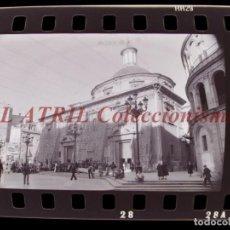 Fotografía antigua: VALENCIA - FALLAS - 3 CLICHES NEGATIVOS DE 35 MM EN CELULOIDE - AÑO 1976. Lote 212062081