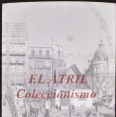 Fotografía antigua: VALENCIA FALLAS PLAZA DEL CAUDILLO, CLICHE NEGATIVO DE 35 MM CELULOIDE AÑOS 1960-1970. Lote 212463643
