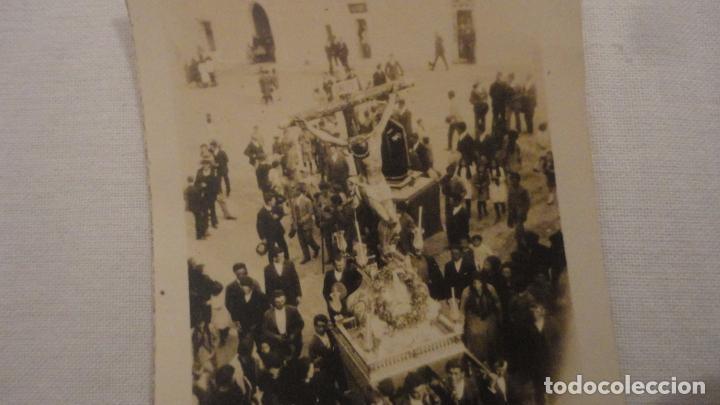Fotografía antigua: ANTIGUA FOTOGRAFIA.CRISTO EN PROCESION SIN IDENTIFICAR AÑOS 30? - Foto 2 - 212746783