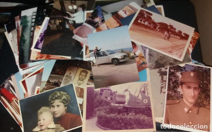 250 FOTOGRAFÍAS EN COLOR ( APROX) + VARIOS SOBRES CON NEGATIVOS (Fotografía Antigua - Fotomecánica)
