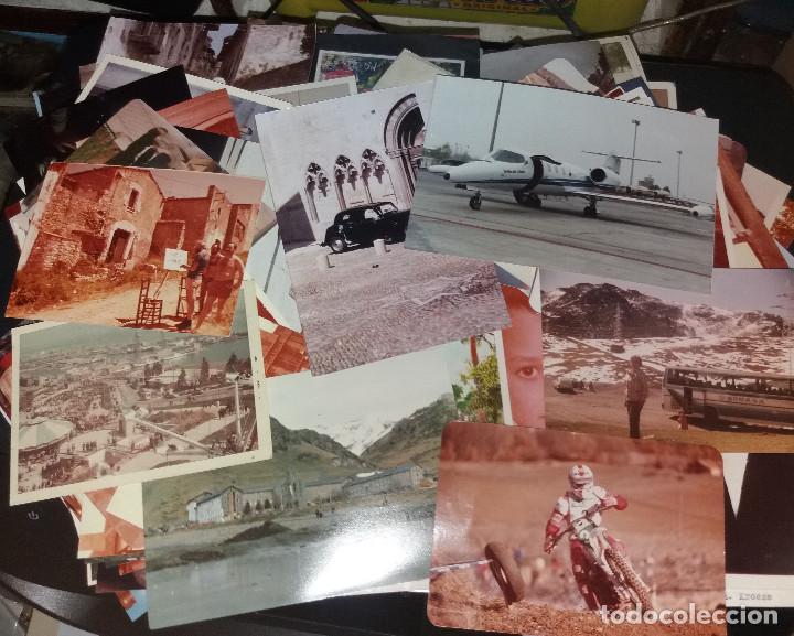 Fotografía antigua: 250 fotografías en color ( aprox) + varios sobres con negativos - Foto 2 - 213168447