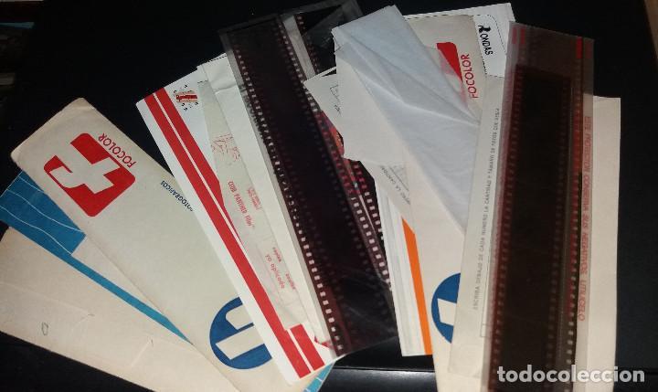 Fotografía antigua: 250 fotografías en color ( aprox) + varios sobres con negativos - Foto 3 - 213168447